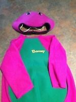 Barney costume size 3/4 still available