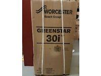 Worcester bosch 30i greenstar combi boiler gas brand new