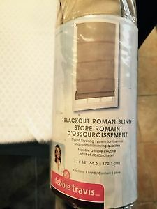 STORE ROMAIN/ ROMAN BLIND BLACKOUT Energie Saving West Island Greater Montréal image 2