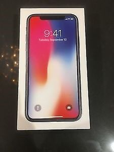 iPhone X Space Grey Brand New in Box Unlocked 256Gb