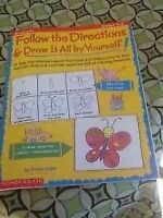 BRAND NEW DRAWING BOOK