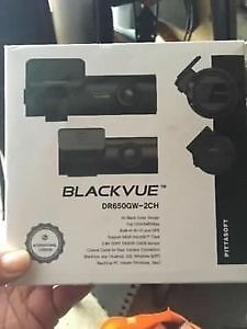 Brand new BlackVue DR650GW dash cam. 2 Channel.Only $300 firm.