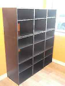 9 PIECE STORAGE / DISPLAY CUBICLES - OR CHOOSE YOUR #