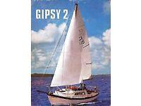 Falmouth Gypsy MK 2 GRP 24' Tri Hull inc Trailer Diesel