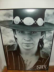 Stevie Ray Vaughan 1999 Promo Poster Framed