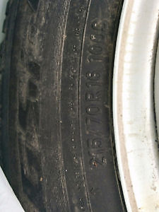 toyo tires 215/70R16 RIMS INCLUDED WITH TIRES Gatineau Ottawa / Gatineau Area image 2