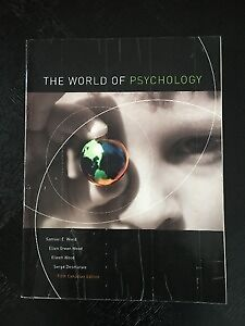 The World of Psychology fifth edition