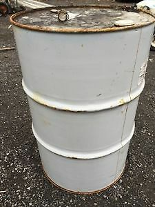 Temporarily Sold Out  45 Gallon Steel Barrels with Lids