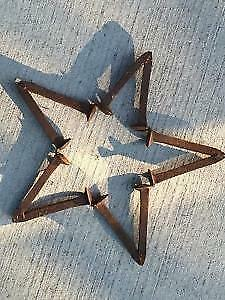 Rustic Star from Railroad Spikes London Ontario image 1