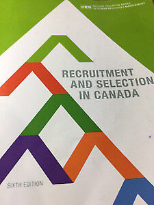 Selling: Recruitment and selection in Canada 6th edition