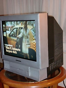 20 Inch Flatscreen with Remote and manual