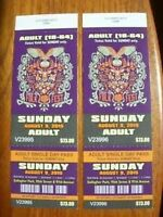 Assorted Edm. Folk Fest Adult Tickets (August 7-9) Available!!