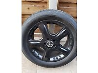 Mercedes ML 19 inch load rated Alloy wheels