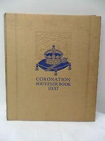 1937 CORONATION SOUVENIR BOOK