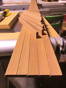 "Tight Budget- Use our ""Courier"" Red Cedar b&c strips & save!"