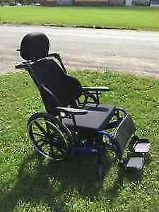 Stellar GL Tilt wheelchair $1600 OBO 2016  with Roho cushion