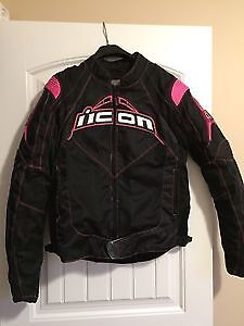 Ladies x-large ICON Contra Motorcycle Jacket asking $150 o.b.o