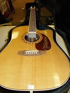 TAKAMINE ACOUSTIC/ELECTRIC WITH HARD CASE MODEL EF360SC