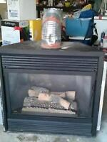 Majistic Gas fireplace