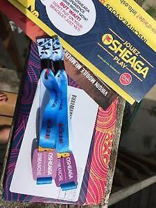 Osheaga SUNDAY (Radiohead) 2 tickets for $700