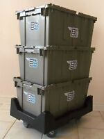 Moving Equipment 4 You // Rental Moving Bins & Garment Boxes