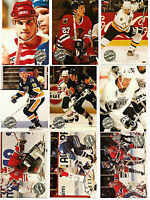 Proset 1991-92 Hockey French Series 1 and 2 complete