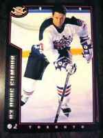 1994-95 POST CEREAL box backs  (hockey cards)