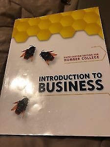 Introduction to business humber college Textbook For Sale!