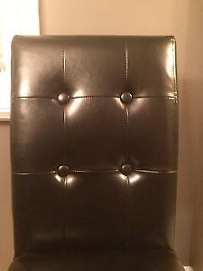 Black Bonded Leather - comes with free garbage bin for desk Kitchener / Waterloo Kitchener Area image 2