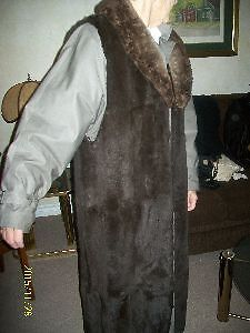 Coat with Rabbit Cover & Collar