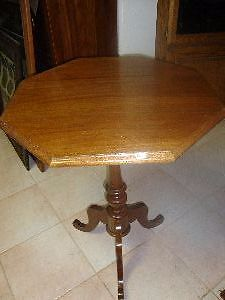 1930 French Walnut solid table