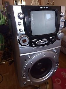 Karaoke Entertainment Center, great for the rumpus room and kids