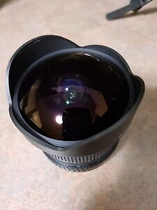 Bower 8mm f/3.5 Fisheye Lens for Canon - Need Gone