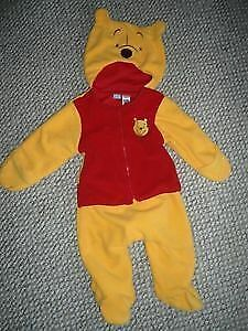 FLEECE Fall/Spring 1 piece lined suit - 6 months and 9 months