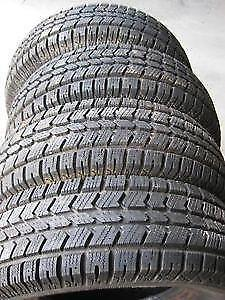 225/65R17 General Altimax RT43 Set of 4 Used all season tires 75%tread left Free Installation and Balance