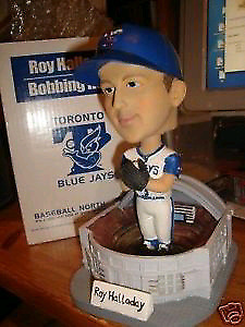 Wanted Roy Halladay blue jay bobbleheads.