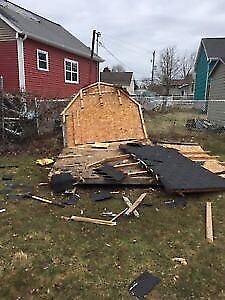 Junk removal & DEMO SHEDS/FENCES/DECKS & more CHEAP RATES
