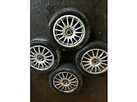 "Ford fitting tsw 16"" alloys,(only 3) 4x108"