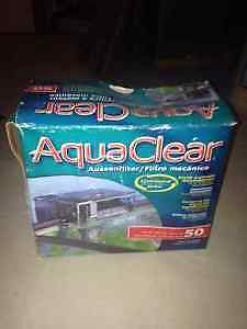 5 Gallon tank and two filters for sale West Island Greater Montréal image 1