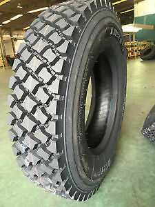 NEW 11R24.5 11R22.5 16 PLY SEMI TRUCK TRAILER STEER TIRES DRIVE