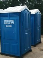 Porta Potty/ Wash Station Rentals - We also rent campers!