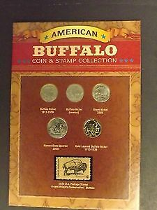 buffalo and stamp collection