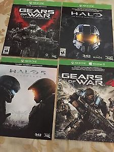 Halo and/or Gears of War  - Full game downloads - Cheap