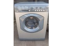 Hotpoint WDL540 7kg 1400Spin Silver Sensor Drying Washer Dryer 1 YEAR GUARANTEE FREE FITTING
