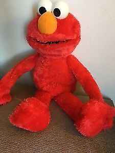 Big Talking playing ELmo. AVAILABLE