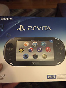 Brand new unopened PS VITA CONSOLE with wifi. $150 firm.