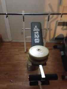 BENCH PRESS COMPLET 100$