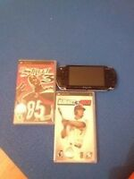 SONY PSP WITH 2 GAMES! GOOD CONDITION, $50