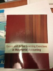 Cases & Active Learning Exercises In Managerial Accounting