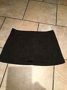 Black mini skirt (shorts underneath) size sm/med